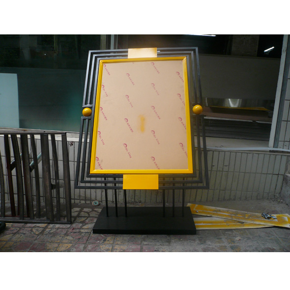 不锈钢展板系列6