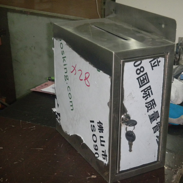 不锈钢信箱系列4