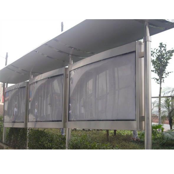 不锈钢站台灯箱系列12