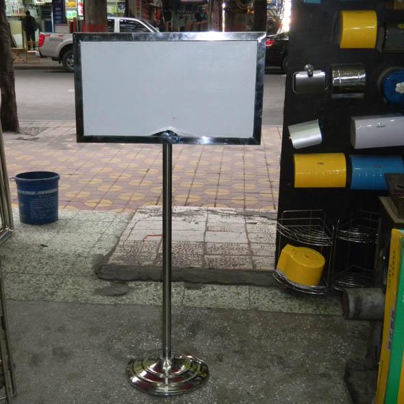 不锈钢广告牌34